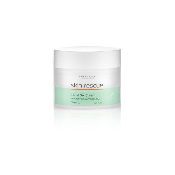 SKIN RESCUE gel krema za lice (sa niacinamidom i pantenolom)